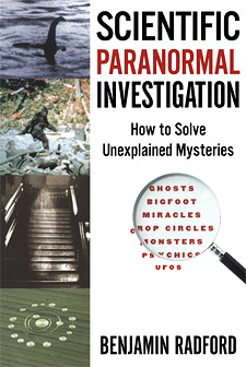 Scientific Paranormal Investigation (book cover)