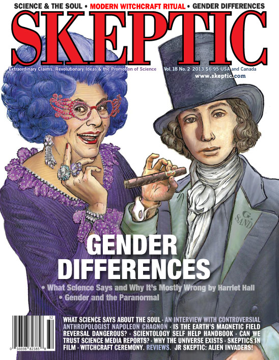 Skeptic magaine 18.2 (Gender Differences), available digitally now and for pre-order in print from Shop Skeptic