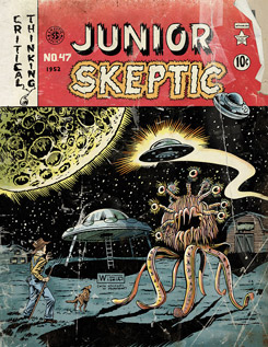 Junior Skeptic magazine cover from Skeptic vol 18, no 2
