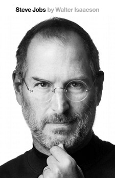 Steve Jobs (book cover)
