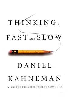 Thinking, Fast and Slow (book cover)