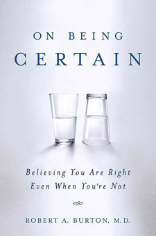 On Being Certain (book cover)