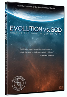 Evolution vs. God (DVD cover in 3D)