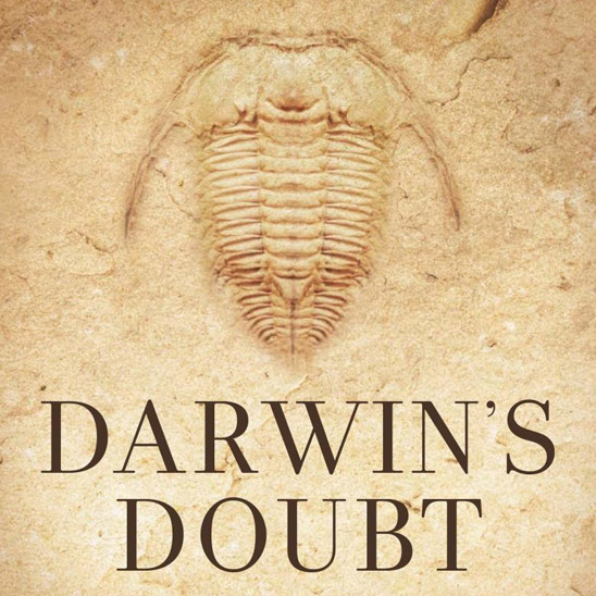 Darwin's Doubt: The Explosive Origin of Animal Life and the Case for Intelligent Design (cover detail)