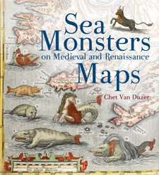 Sea Monsters on Medieval and Renaissance Maps (book cover)