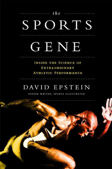 The Sports Gene (book cover)
