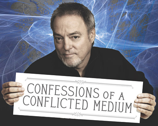 Psychic Blues: Confessions of a Conflicted Medium (book cover detail)