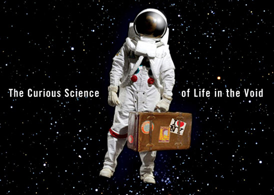 Packing for Mars: The Curious Science of Life in the Void (detail of book cover)