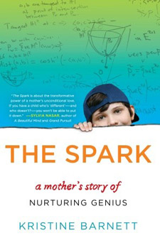 The Spark: A Mother's Story of Nurturing, Genius, and Autism (book cover)