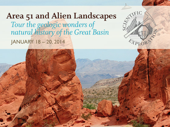 Area 51 and Alien Landscapes (January 18-20, 2014)