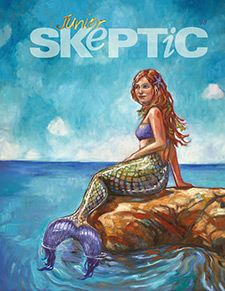 Junior Skeptic # 48: Mermaids (cover)