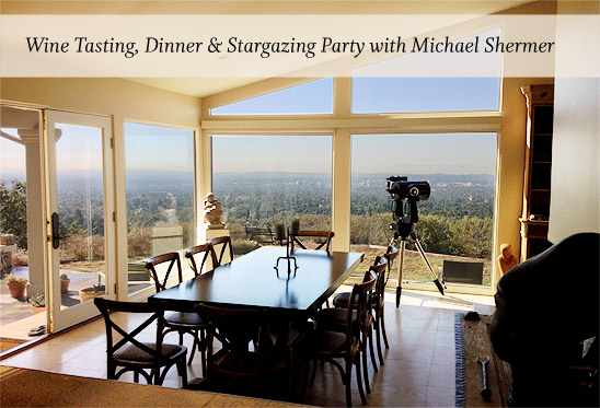 Join Michael Shermer, and Special Guests for a dinner evening, and wine tasting