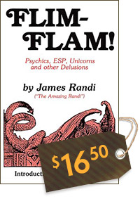 Flim-Flam: Psychics, ESP, Unicorns, and other Delusions (cover)