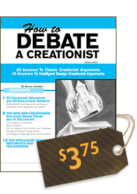 How to Debate a Creationist (cover)