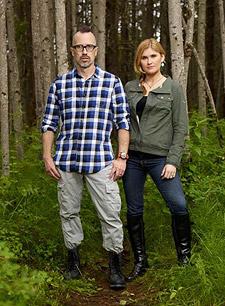 Dr. Todd Disotell and Natalia Reagan