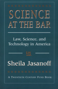 Science at the Bar (book cover)
