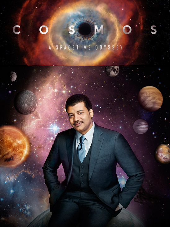 COSMOS: A SPACETIME ODYSSEY. Copyright 2014 Patrick Eccelsine/FOX BROADCASTING