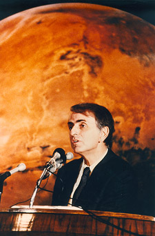 Carl Sagan speaking