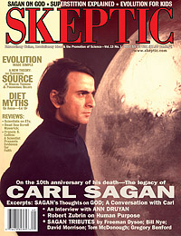 Skeptic magazine issue 13.1 (cover)