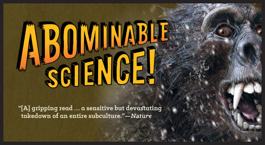 Abominable Science (modified detail of cover elements)