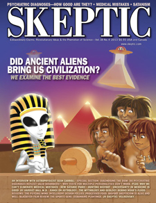 Skeptic magazine 18.4 (cover)