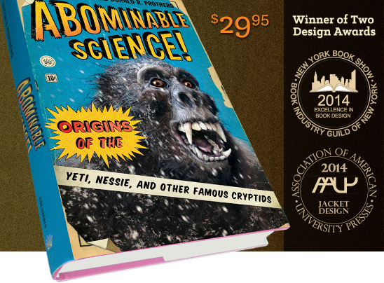Abominable Science is the Winner of Two Design Awards in 2014