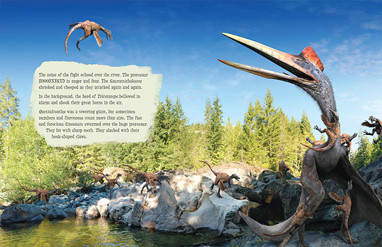 Pterosaur Trouble (page spread)