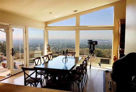 Michael Shermer's dining room