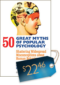 50 Great Myths of Popular Psychology (cover)