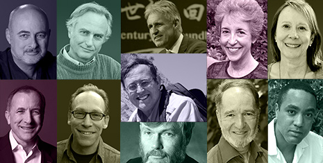 Confirmed Conference Speakers: Richard Dawkins, Jared Diamond, Lawrence Krauss, Esther Dyson, John McWhorter, Ian Morris, Carol Tavris, Greg Benford, David Brin, and Donald Prothero.