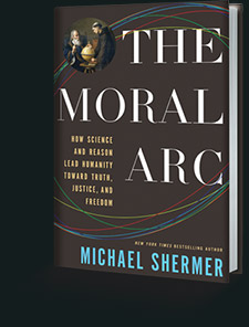 The Moral Arc (3D book cover)