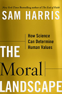 The Moral Landscape (book cover)