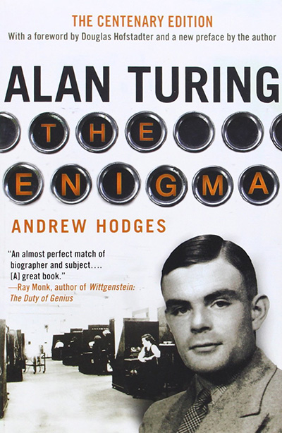 Alan Turing: The Enigma (book cover)