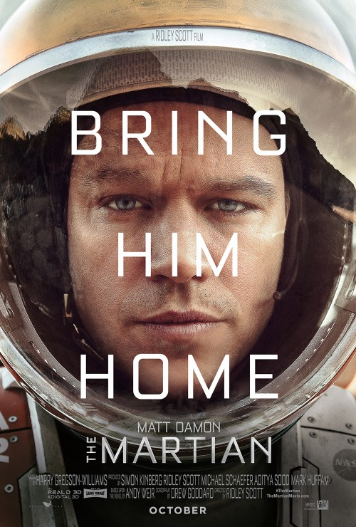 The Martian (film poster)