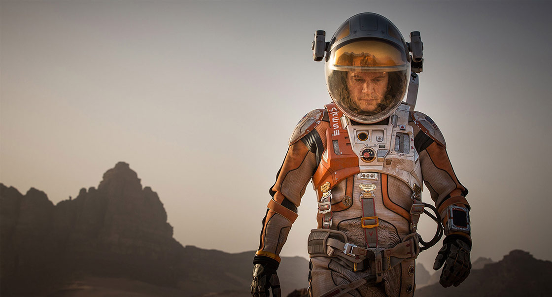 The Martian (film still)