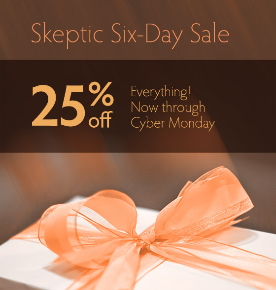 Save 25% off Everything, Now Thru Cyber Monday