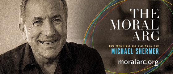 Save 25% on The Moral Arc, by Michael Shermer