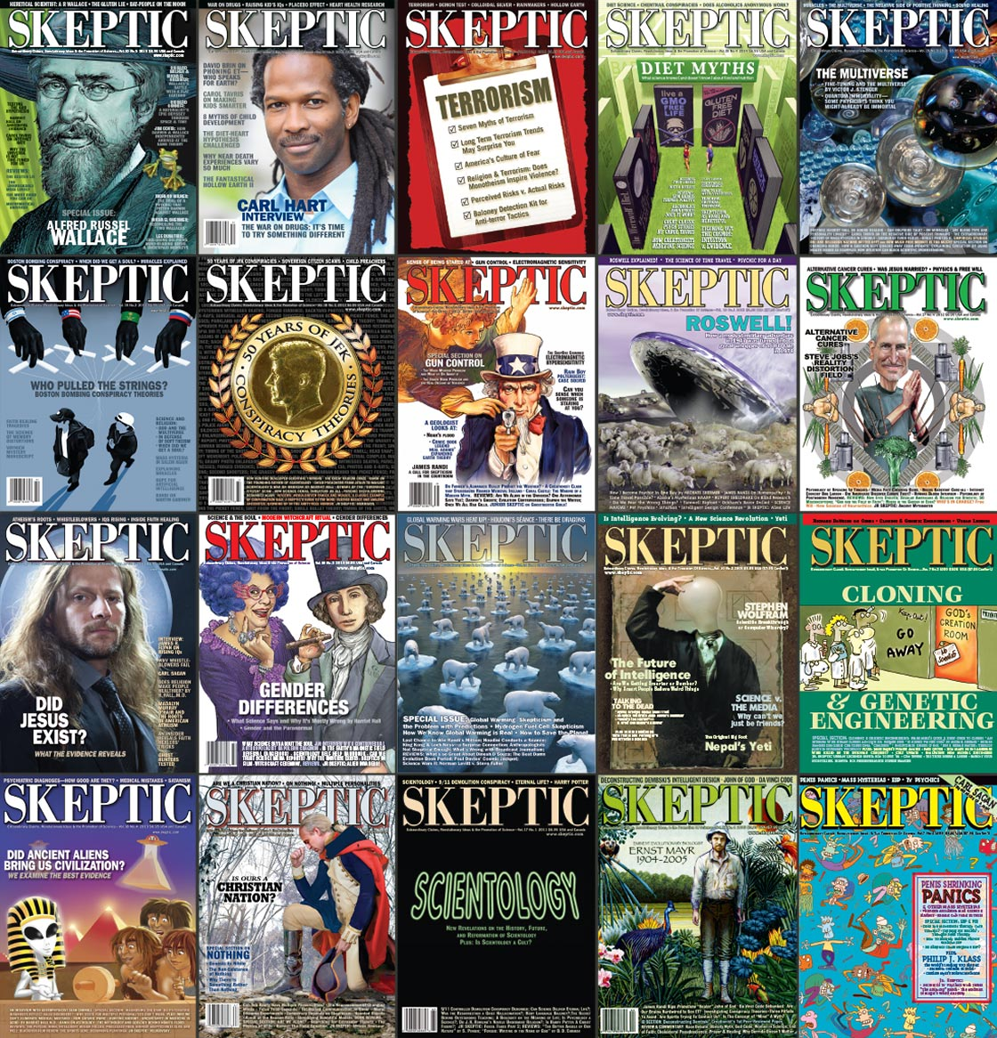 Skeptic Magazine Back Issues