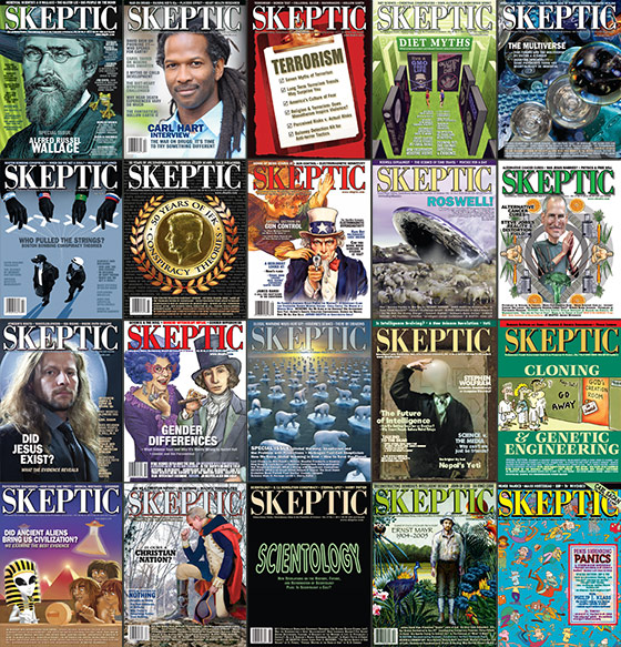 Save 25% on Skeptic Magazine Back Issues