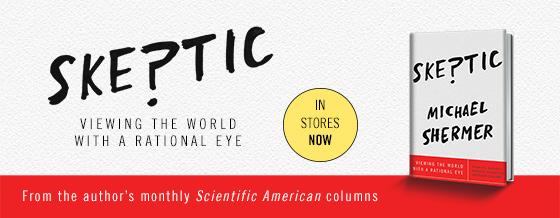 Skeptic: Viewing the World with a Rational Eye. Available in stores now!