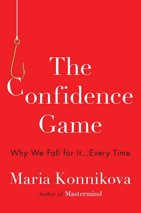 The Confidence Game (book cover)