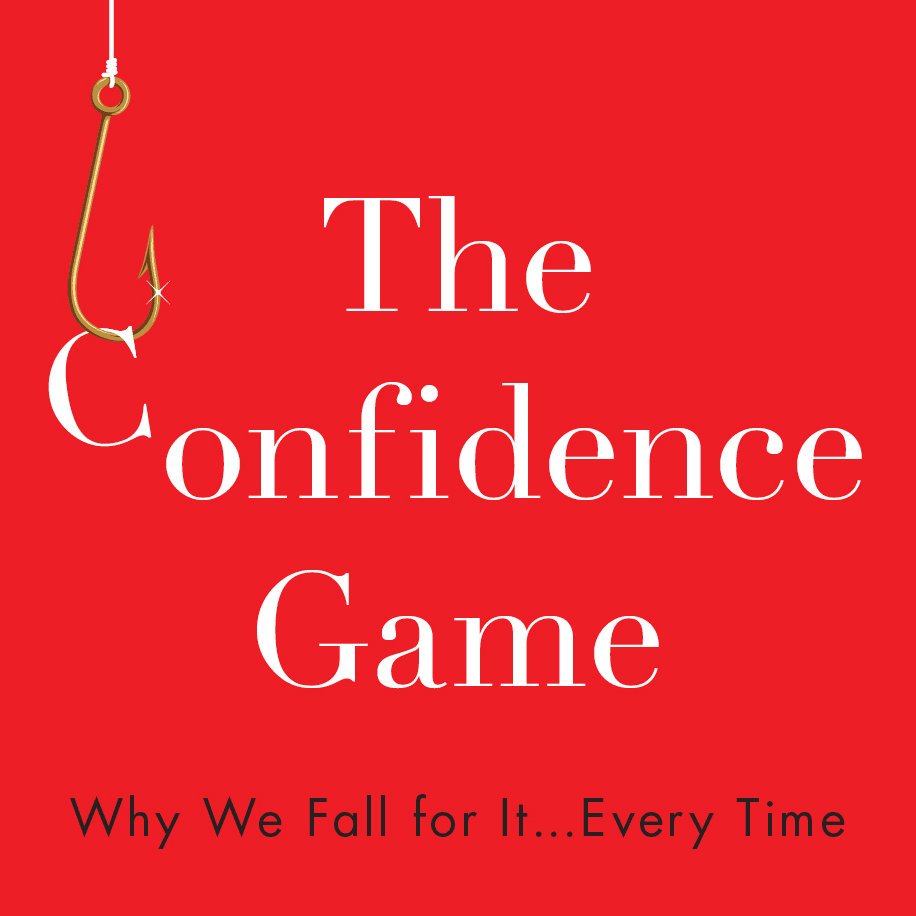 The Confidence Game (detail of book cover)