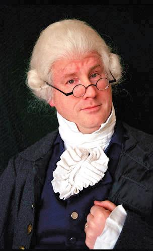 Hal Bidlack as Alexander Hamilton