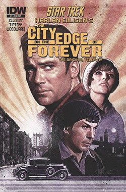 Harlan Ellison's The City on the Edge of Forever: The Original Teleplay (script poster)