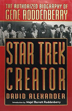 Star Trek Creator: The Authorized Biography of Gene Roddenberry (book cover)