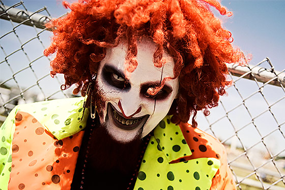 Evil Clown, by AndHereWeGo (Photographer) [GFDL or CC BY-SA 3.0] via Wikimedia Commons