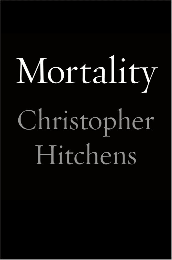Mortality (book cover)