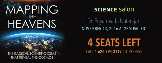 Science Salon with Dr. Priyamvada Natarajan