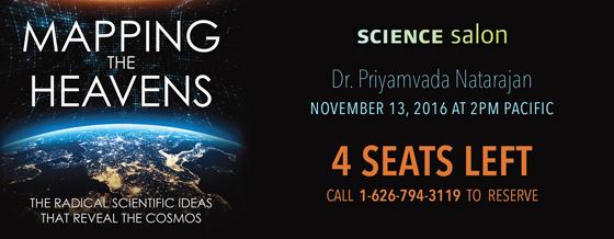 Science Salon with Dr. Priyamvada Natarajan