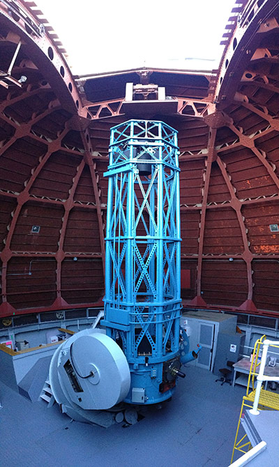The historic 60-inch telescope at the Mt. Wilson Observatory